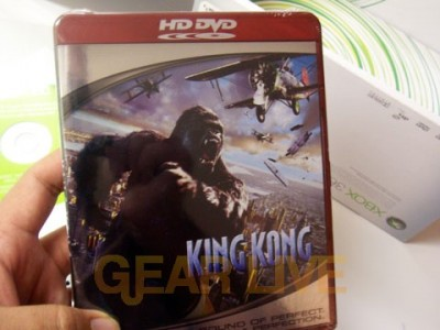 King Kong HD DVD Pack In