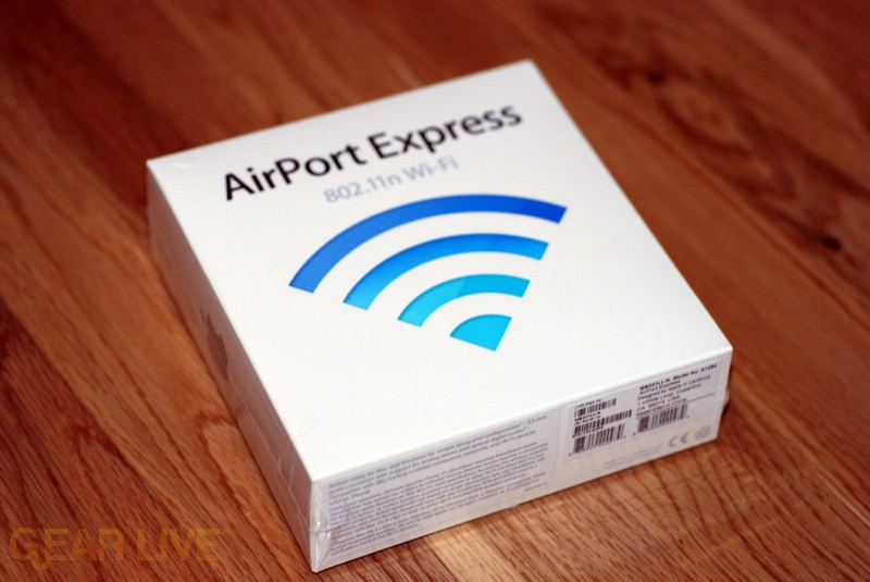 Airport Express, now with 802.11n goodness!