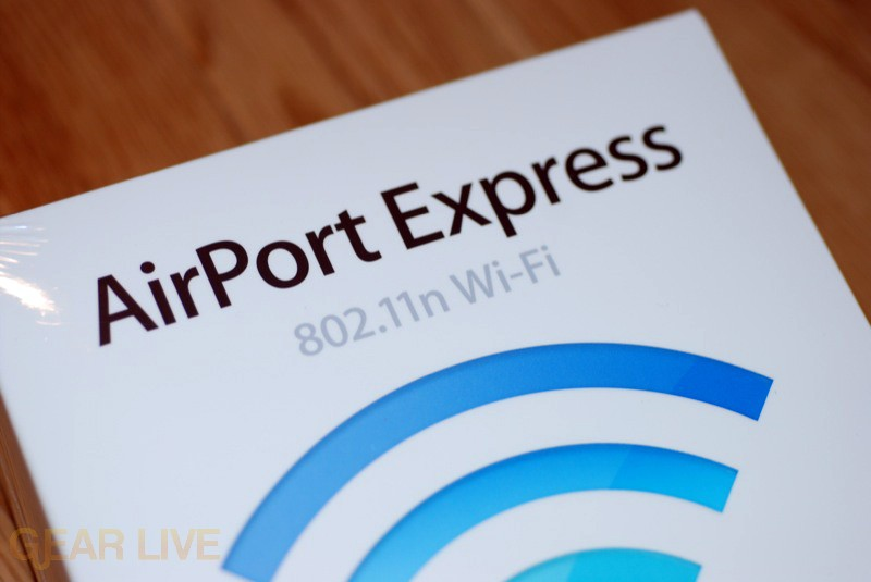 AirPort Express - 802.11n Wi-Fi