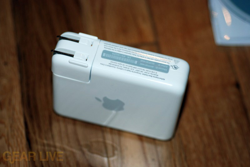 AirPort Extreme 802.11n on side