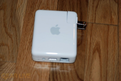 AirPort Extreme 802.11n plug out