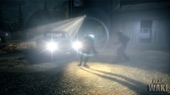Alan Wake Night Driving