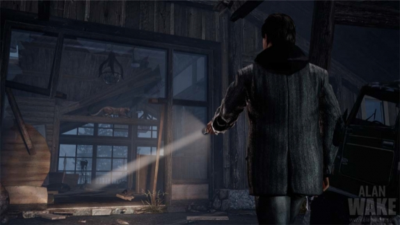 Alan Wake abandoned warehouse