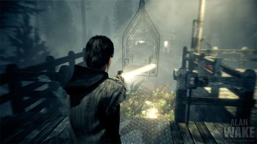 Alan Wake cablecar aiming