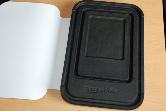 Kindle 2 inner box