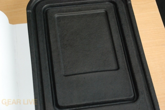 Kindle 2 inner box shape