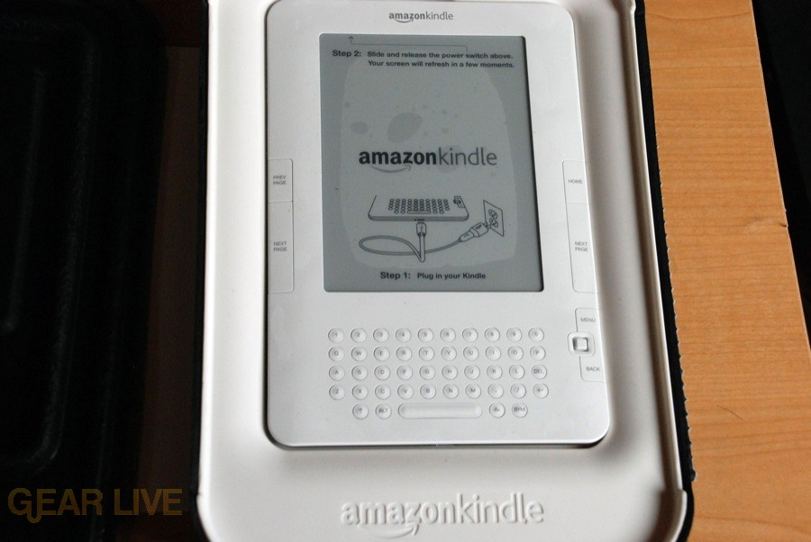 Kindle 2 revealed!