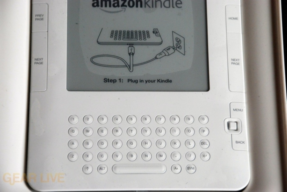 Kindle 2 lower body