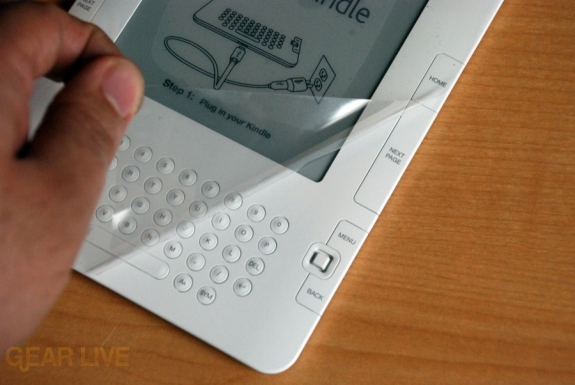 Kindle 2 peeling