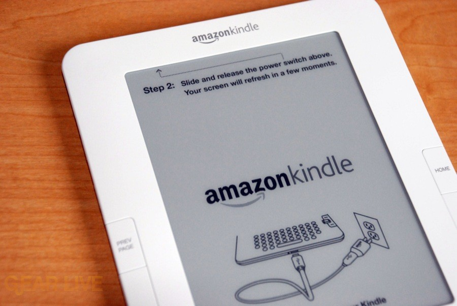 Kindle 2 top body