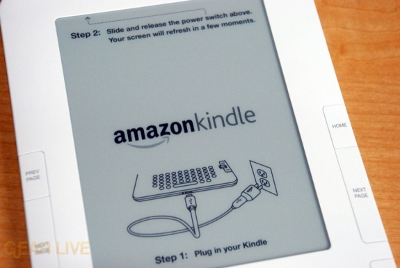 Kindle 2 screen