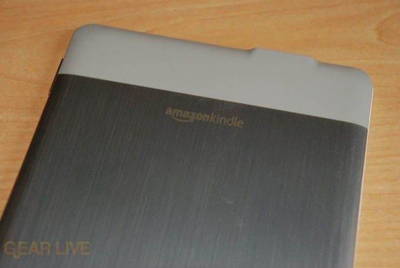 Kindle 2 top back
