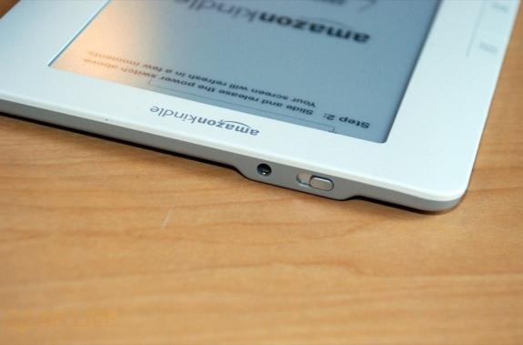Kindle 2 power and audio jack