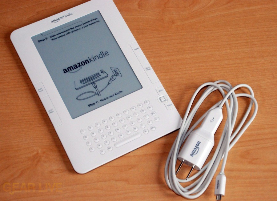 Kindle 2 unboxed