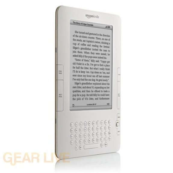 Amazon Kindle 2 left side