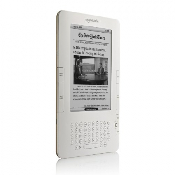 Amazon Kindle 2 NYT