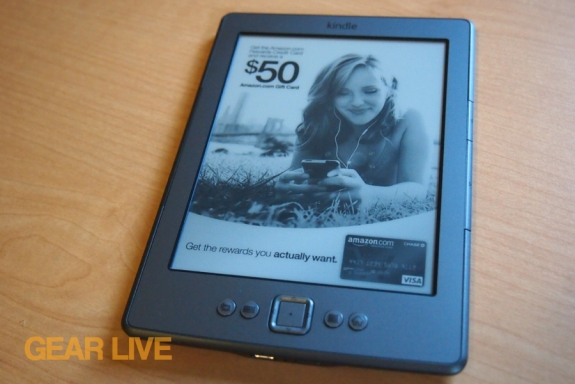 Amazon Kindle 2011