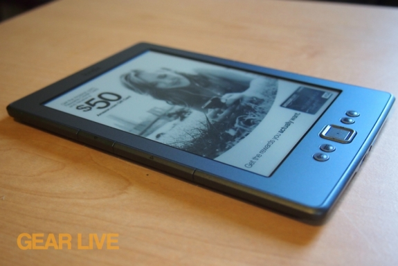 Amazon Kindle 4 left