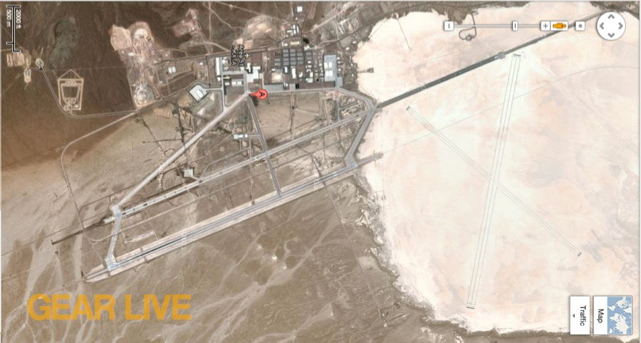 Google Maps Area 51