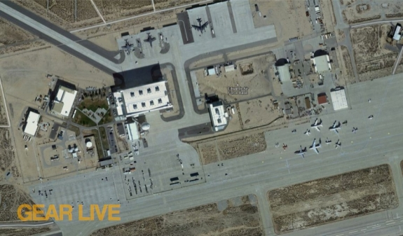 Google Maps Edwards Air Force Base