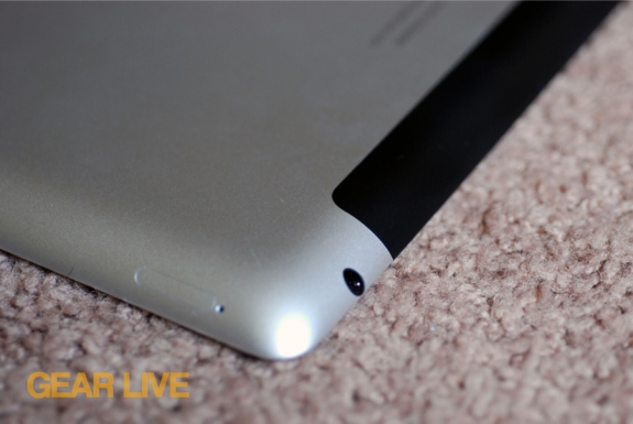 iPad 3rd generation SIM card slot