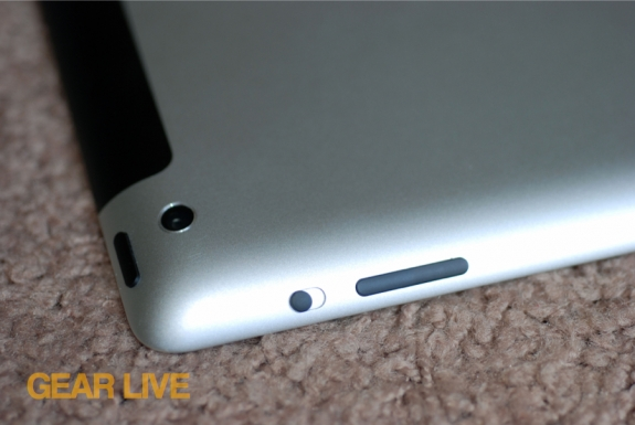 iPad 3rd generation camera
