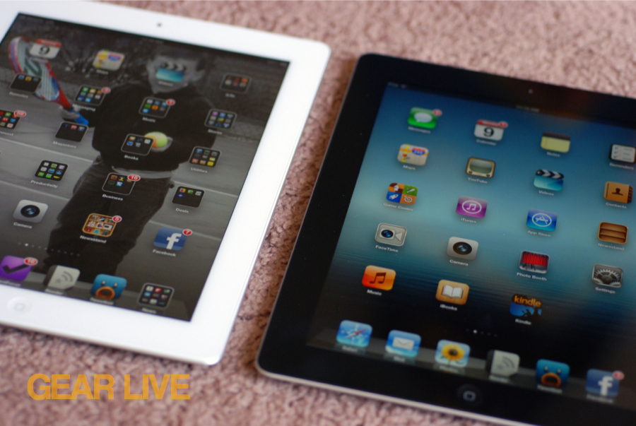 Two 3rd generation iPads