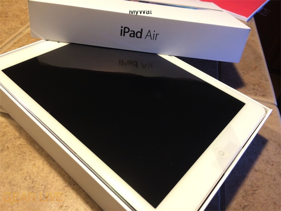 Apple iPad Air in box