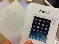 Apple iPad Air Quick Start Guide and Stickers