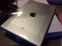 Removing plastic from iPad Air