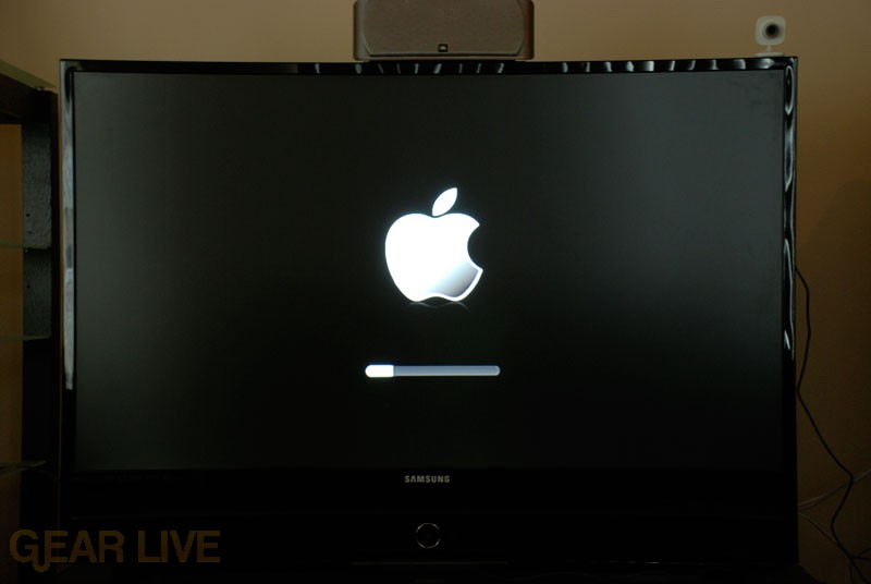 Apple TV Software Update In Progress...