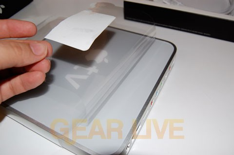 Peeling off Apple TV's Protective Layer