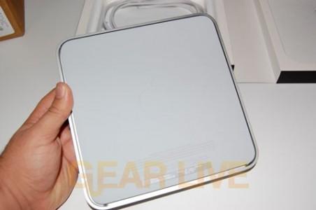 Bottom of Apple TV