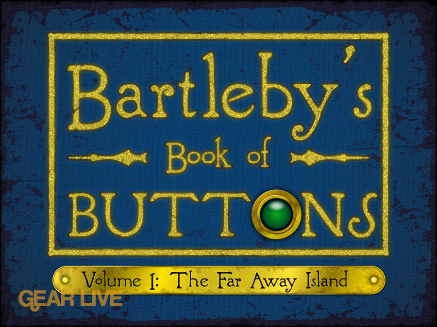 Bartleby Book of Buttons Vol 1 Title