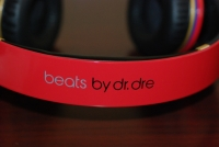 Beats by Dr. Dre Red LeBron James Customs band