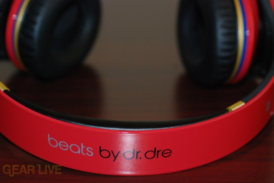 Beats by Dr. Dre Red LeBron James Customs top down