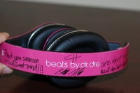 Beats by Dr. Dre Pink Charles Hamilton Customs band