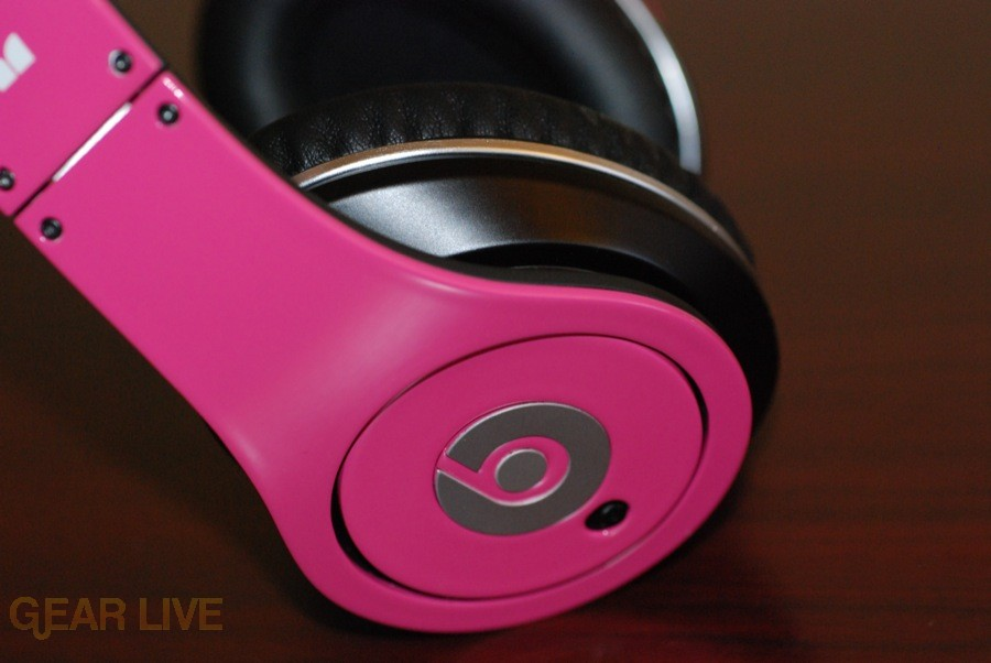 Beats by Dr. Dre Pink Charles Hamilton Customs side