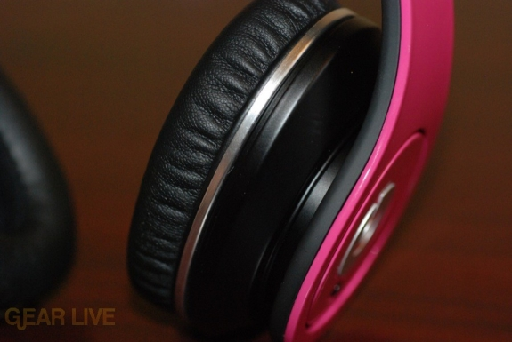 Beats by Dr. Dre Pink Charles Hamilton Customs earcup
