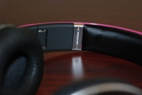 Beats by Dr. Dre Pink Charles Hamilton Customs inner