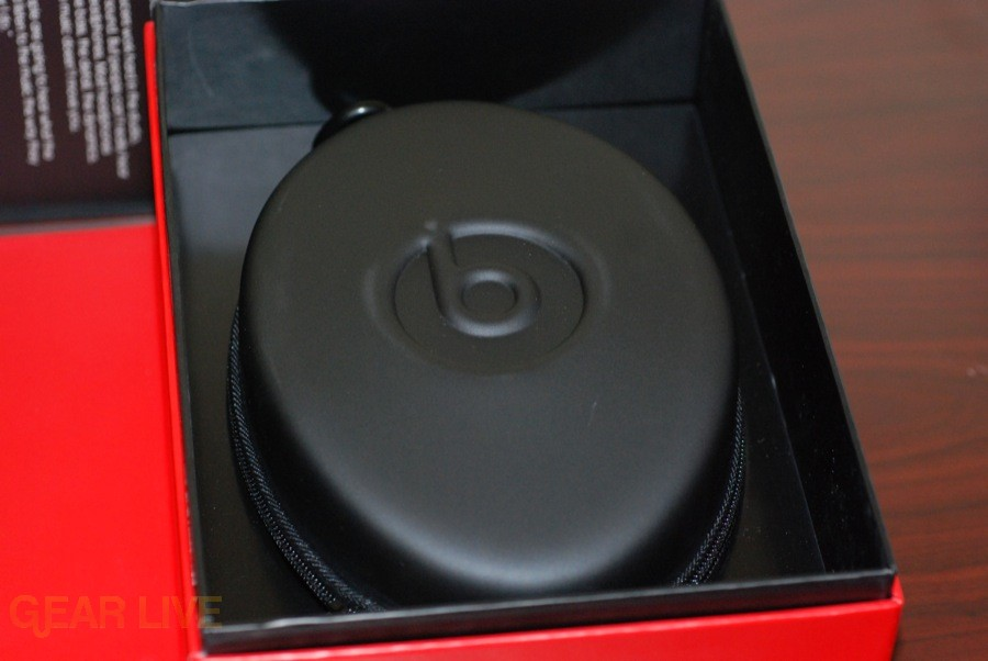Beats by Dr. Dre carrying case in box