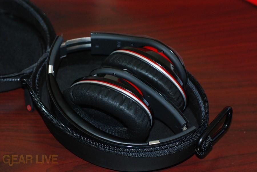 Beats by Dr. Dre folded in case