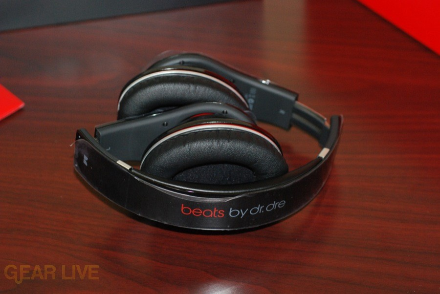 Beats by Dr. Dre headphones folded