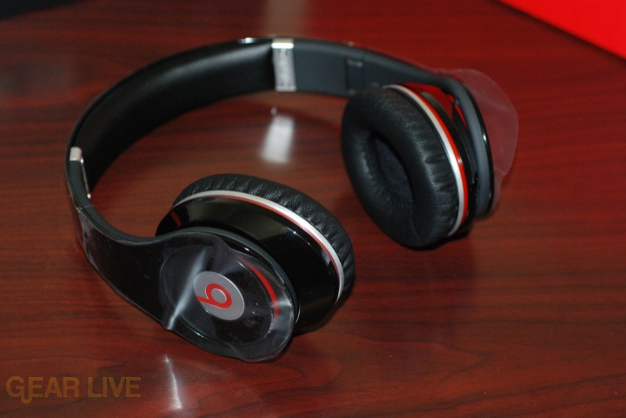 Beats by Dr. Dre headphones unfolded