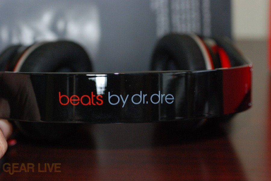 Beats by Dr. Dre headphones band