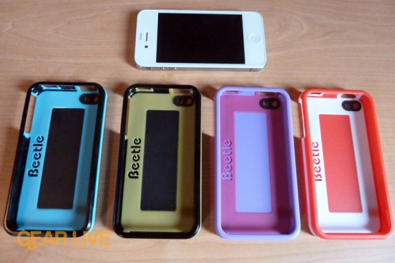 AGF Beetle iPhone 4 cases