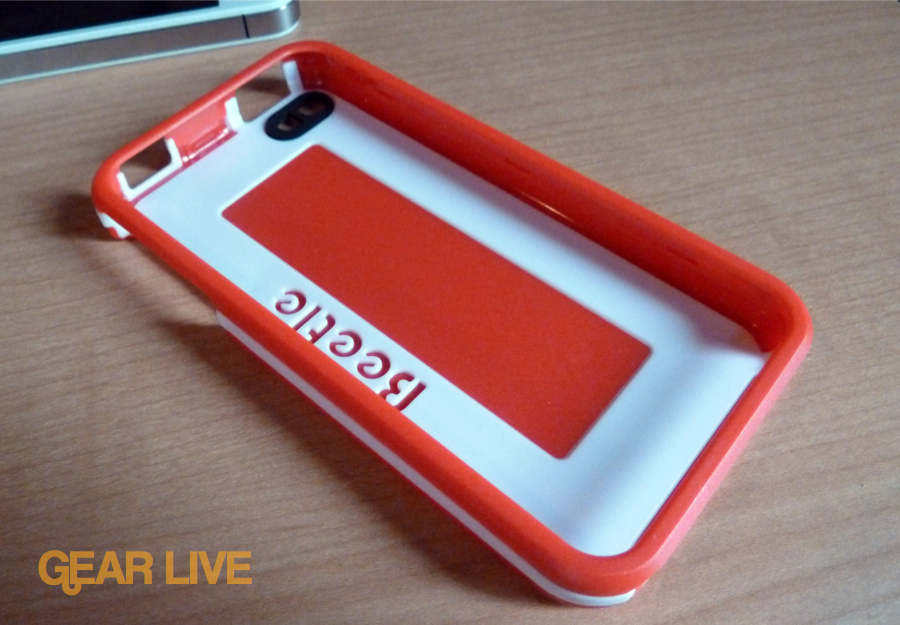 AGF Beetle iPhone 4 case red
