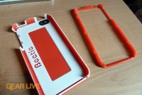 AGF Beetle iPhone 4 case apart