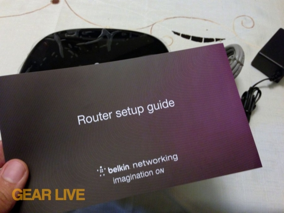 Belkin AC1200 Dual Band Wireless AC Gigabit Router setup guide