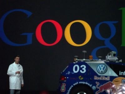 Larry Page Keynote Begins